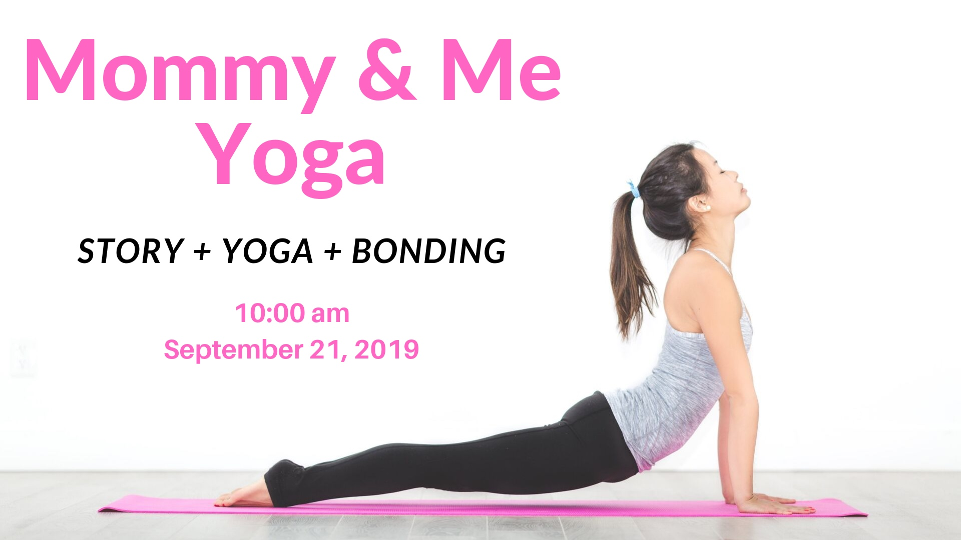 Free Mommy and Me Yoga