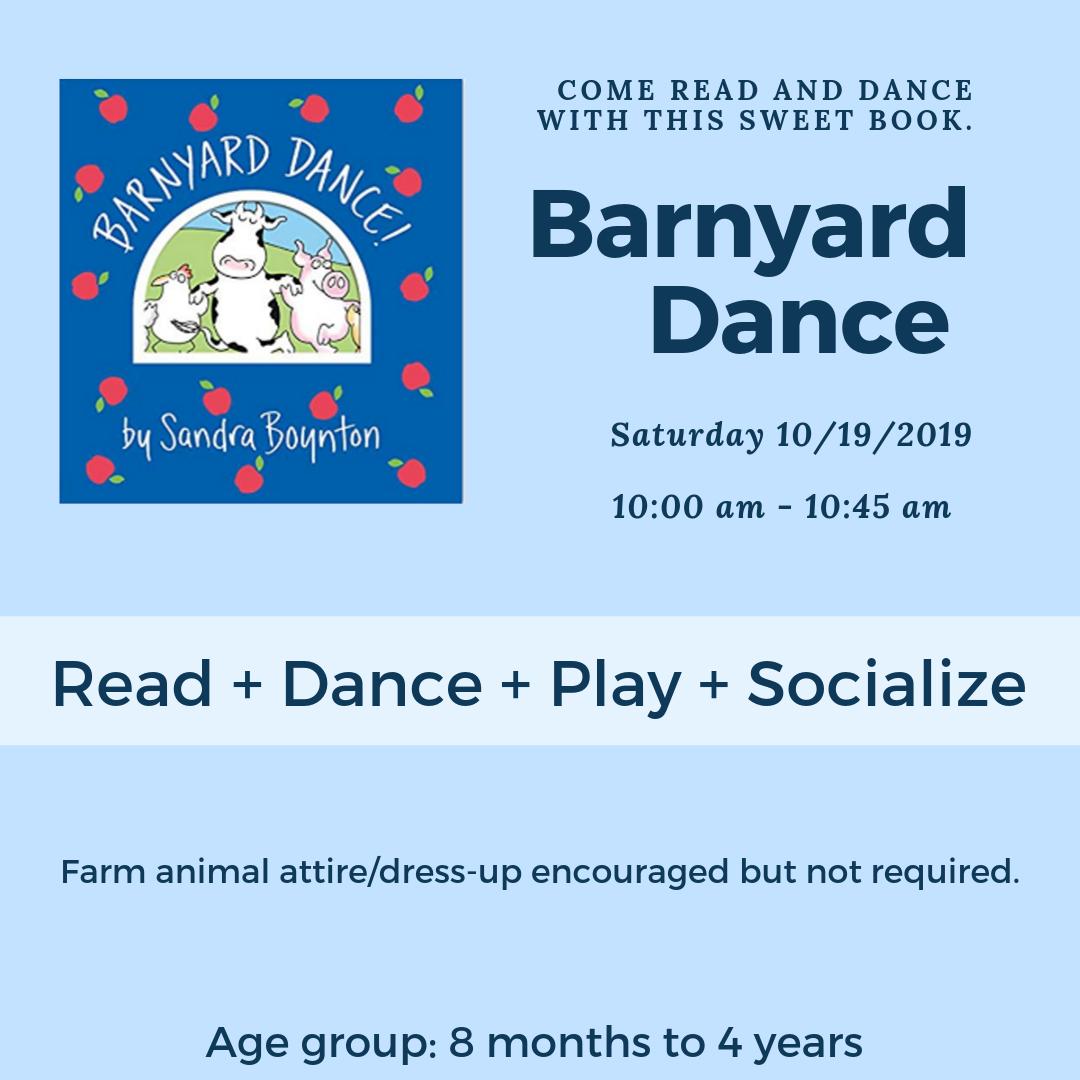 Barnyard Dance Playgroup